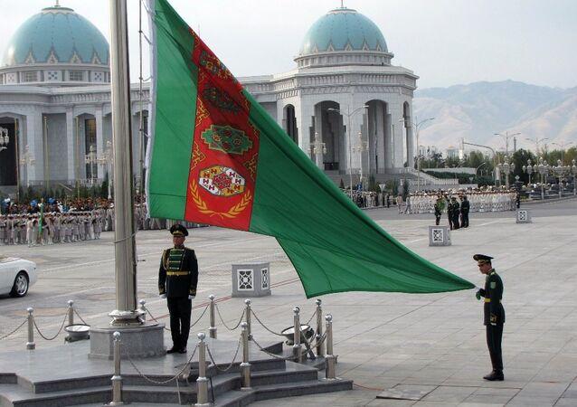 Türkmenistan bayrağı