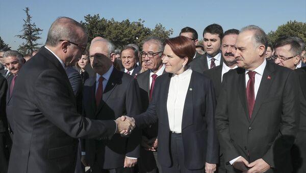 Recep Tayyip Erdoğan - Meral Akşener - Sputnik Türkiye