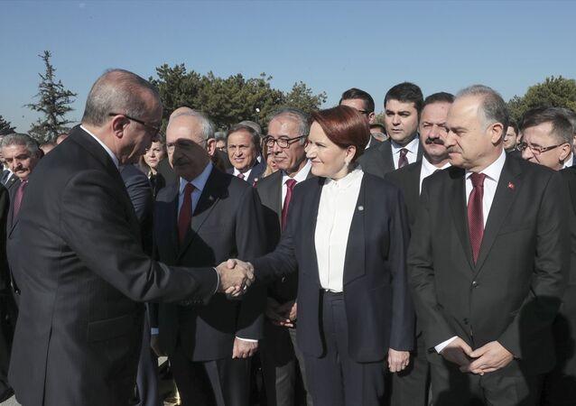 Recep Tayyip Erdoğan - Meral Akşener