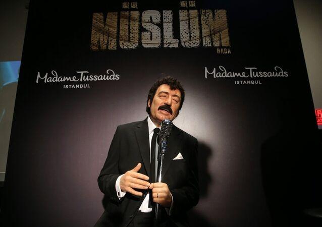 Müslüm Baba filmi - Müslüm Gürses balmumu figürü