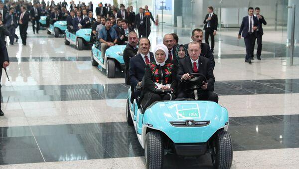 Yeni Havalimanı açılışı - Sputnik Türkiye