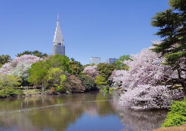 Shinjuku Gyoen ulusal parkı