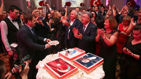 Rus-Türk İşadamları Birliği'nden coşkulu 29 Ekim kutlaması - Sputnik Türkiye