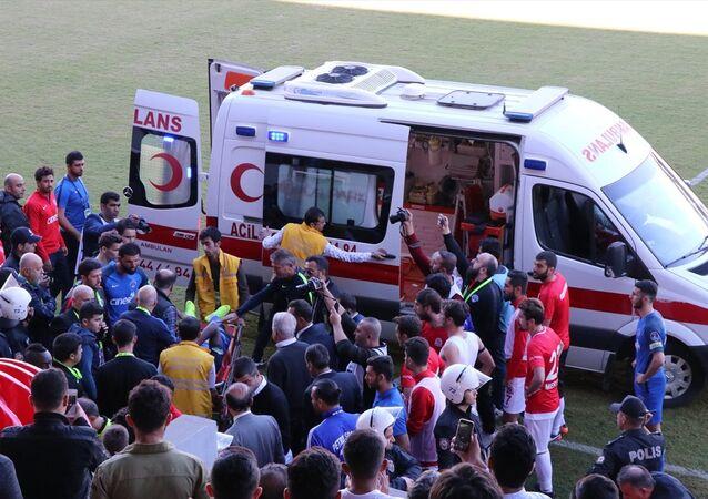 Batman Petrolspor ile Kasımpaşa arasında oynanan maçta çıkan olaylar sonrası 1 kişi gözaltına alındı