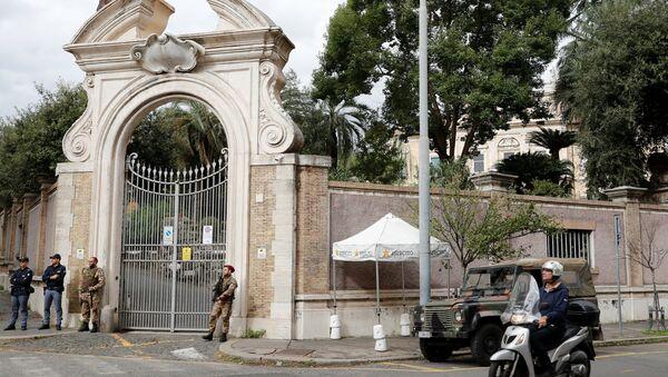 Vatikan'ın Roma'da bulunan büyükelçilik binası - Sputnik Türkiye