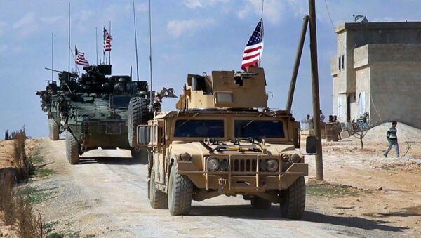 Suriye'deki ABD güçleri - Sputnik Türkiye
