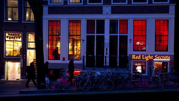 Red Light- Amsterdam - Sputnik Türkiye