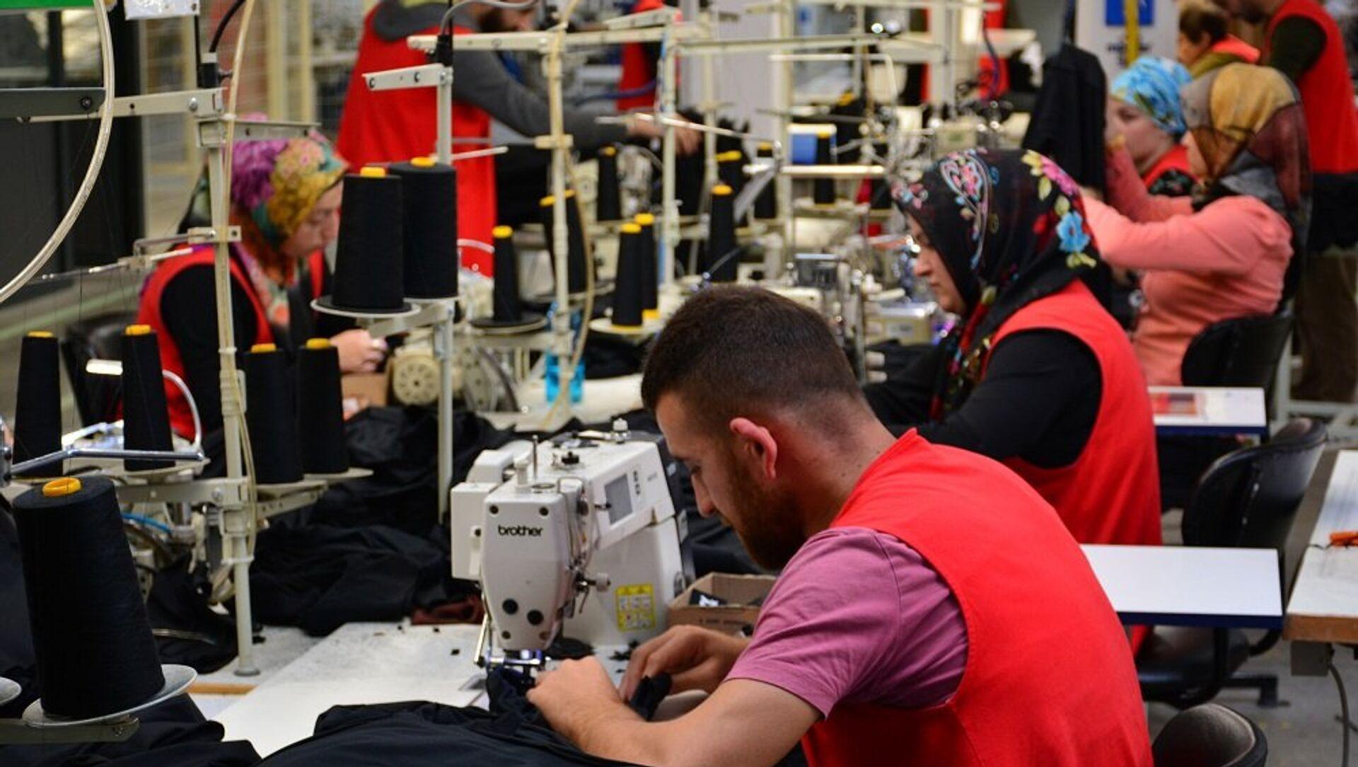 tekstil, işçi, konfeksiyon - Sputnik Türkiye, 1920, 28.07.2021