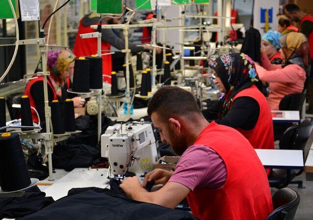 tekstil, işçi, konfeksiyon