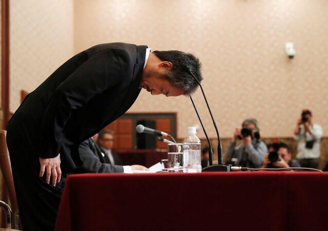 Japon gazeteci Jumpei Yasuda, Tokyo'da düzenlediği basın toplantısında özür diledi.
