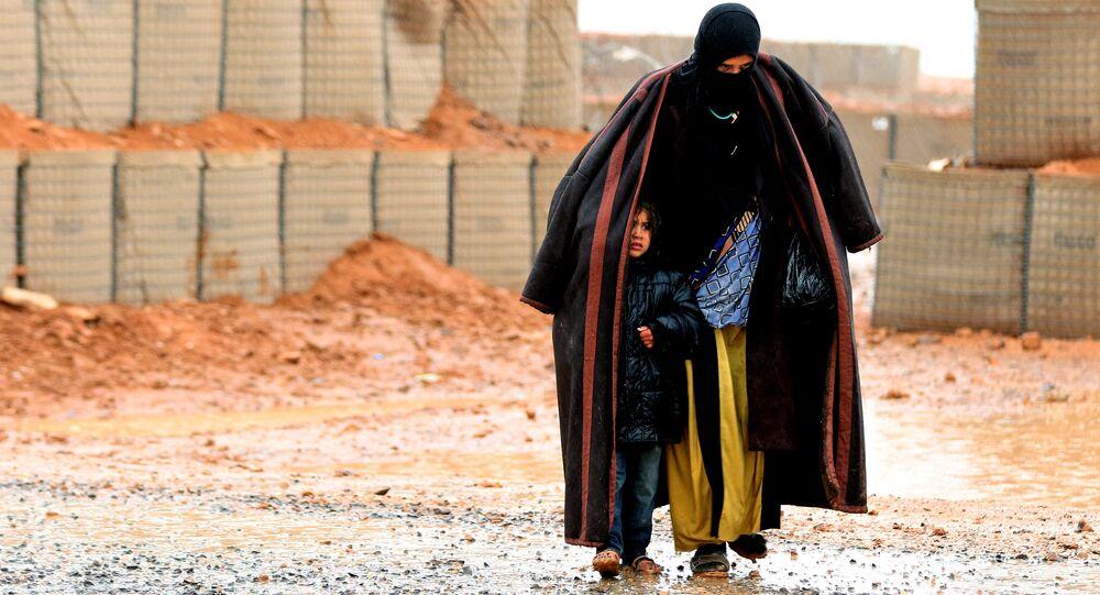 Rukban mülteci kampı