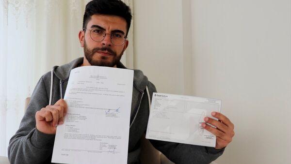 Sivas'ta, nüfus cüzdanına yaklaşık 23 ay küçük yazıldığı gerekçesiyle mahkeme başvuran, kemik ölçümleri sonucu yaşı büyütülen Özkan Yelok bedelli askerliğe başvurdu. - Sputnik Türkiye
