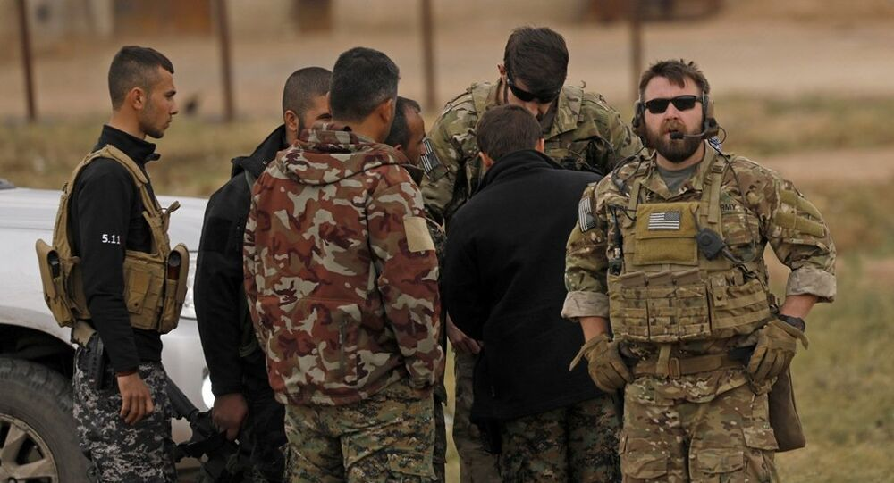 ABD askerleri Türkiye-Suriye sınırında