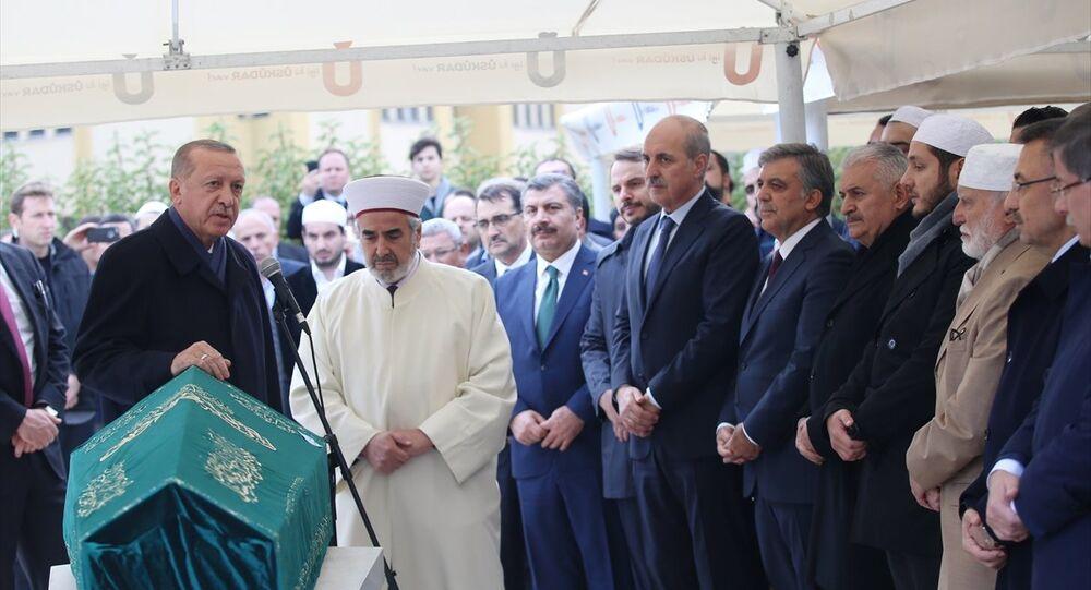 Abdullah Tivnikli cenazesi