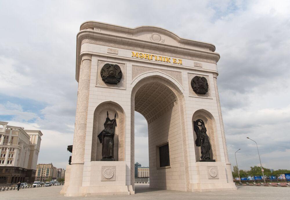 Astana'nın ilgi çeken mimarisi