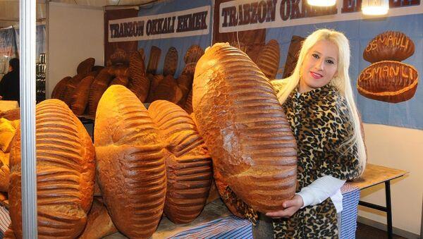 8 kiloluk Trabzon ekmeği - Sputnik Türkiye