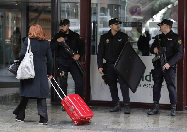 İspanya'daki bomba alarmının sebebi belli oldu: Kemer tokası