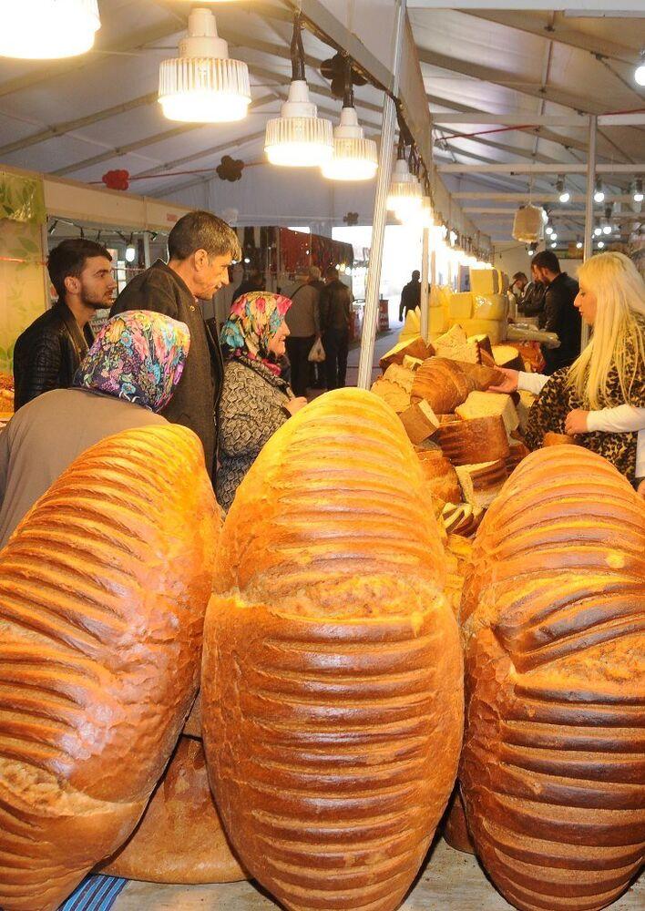 8 kiloluk Trabzon ekmeği
