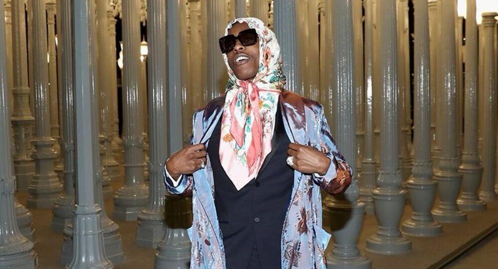 ABD'li rapçi A$AP Rocky