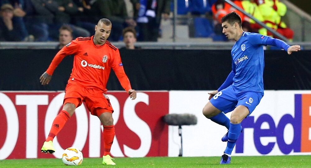 Genk ile Beşiktaş arasında oynanan UEFA Avrupa Ligi karşılaşması