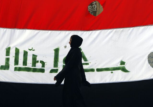 La bandera de Irak