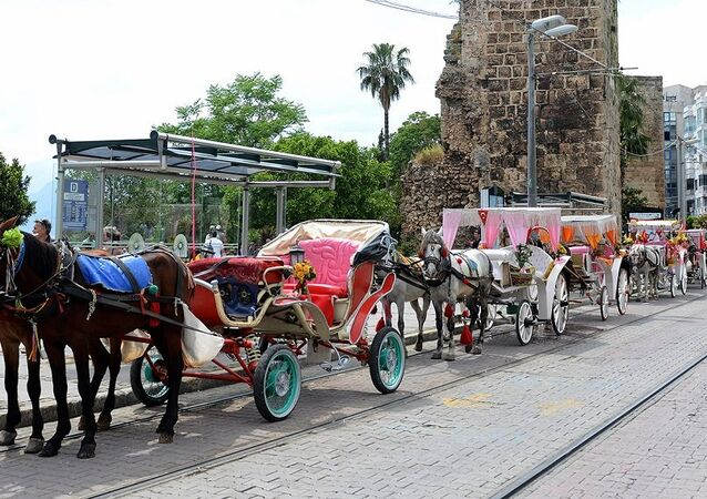 Antalya, fayton