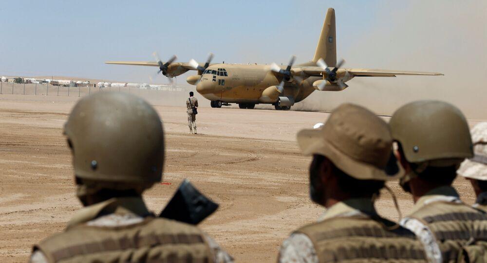Suudi Arabistan askeri uçak