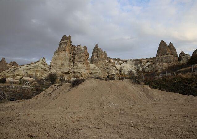 Kapadokya'da kaçak yapılaşma