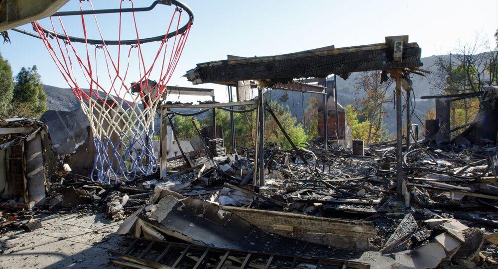California orman yangınlarıyla boğuşuyor