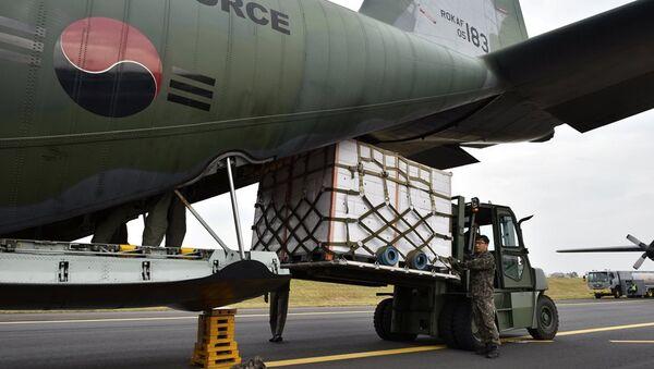 Güney Kore tarafından Kuzey Kore'ye gönderilen Mandalina - Sputnik Türkiye