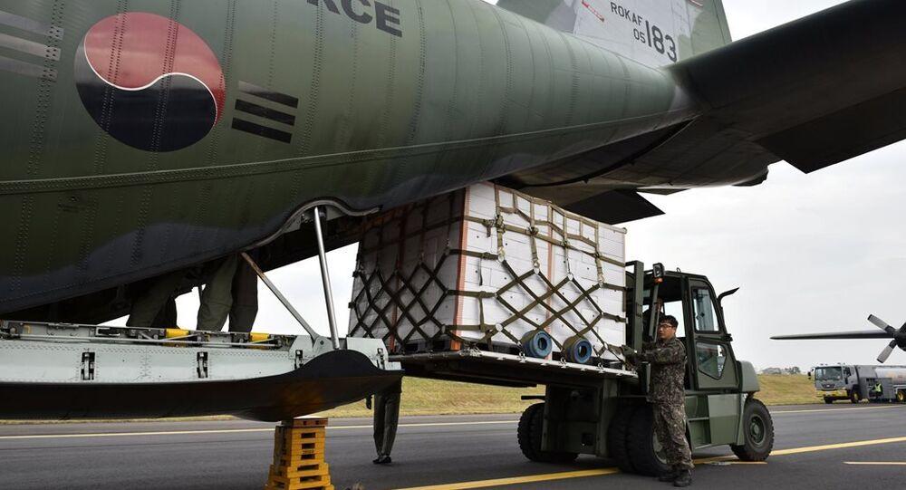Güney Kore tarafından Kuzey Kore'ye gönderilen Mandalina