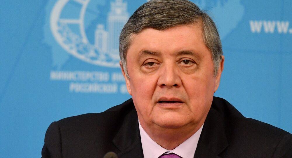 Rusya Devlet Başkanı Afganistan Özel Temsilcisi Zamir Kabulov