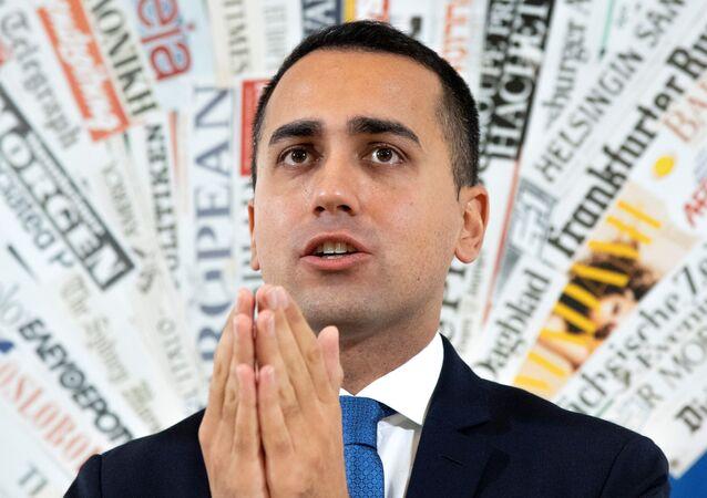 5 Yıldız'ın siyasi lideri ve Başbakan Yardımcısı Luigi Di Maio