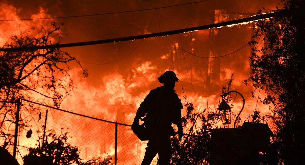 Kaliforniya yangını