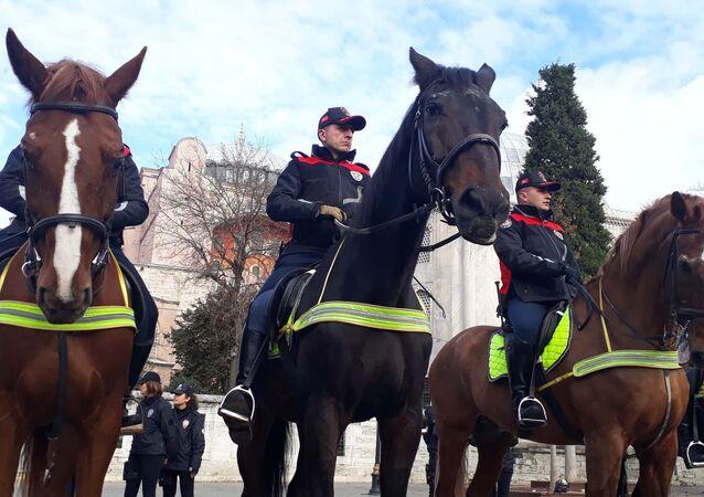 atlı polis