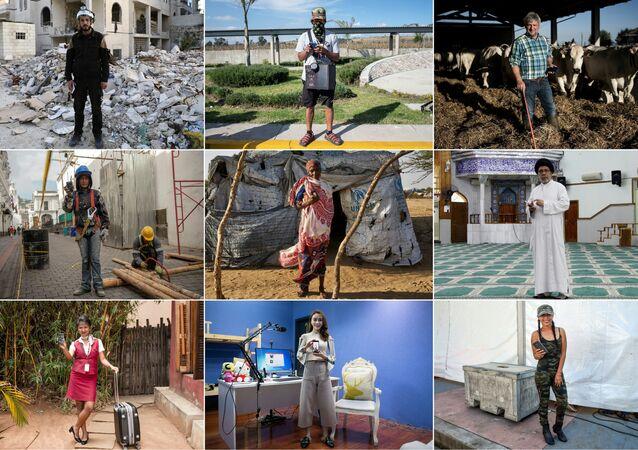 AFP fotoğrafçılarının, dünya genelinde akıllı telefon kullanıcılarının fotoğraflarından derleyerek oluştuğu 'Akıllı telefonum olmadan asla' isimli albüm