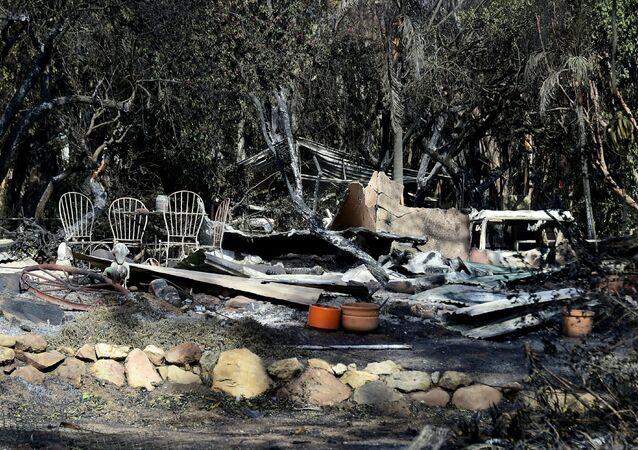Kaliforniya- Yangın