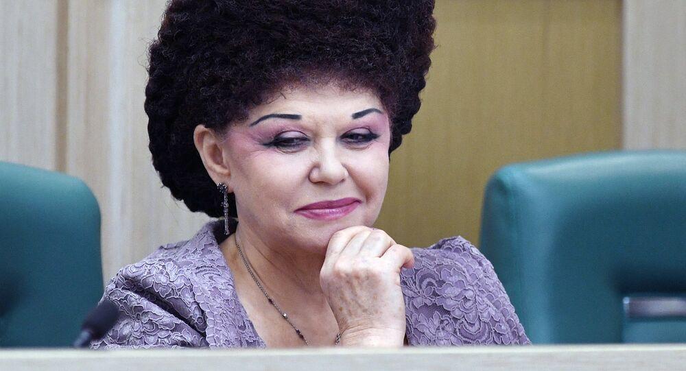 Hakasya Cumhuriyeti'nden Rus senatör Valentina Petrenko