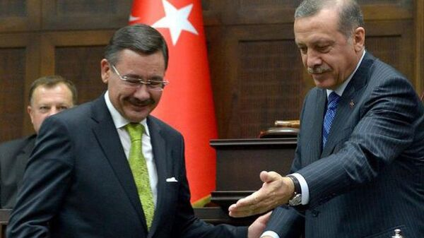 Recep Tayyip Erdoğan - Melih Gökçek - Sputnik Türkiye