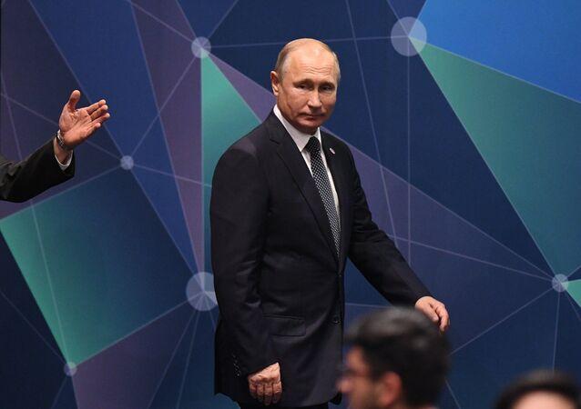 Rusya Devlet Başkanı Vladimir Putin- ASEAN