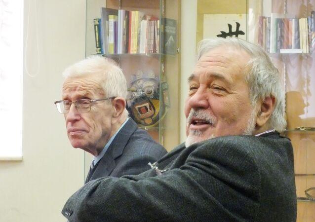 İlber Ortaylı ve Mikhail Meyer