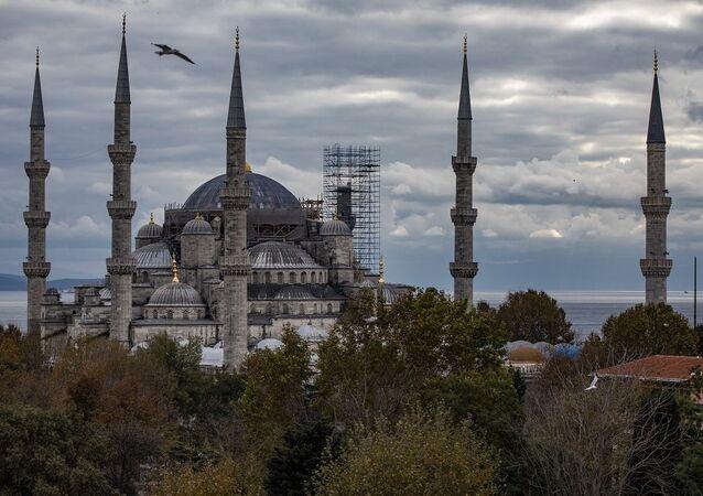 Sultanahmet Camisi restorasyon