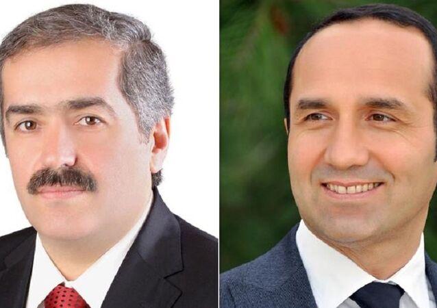 Elbistan ve Ünye belediye başkanları