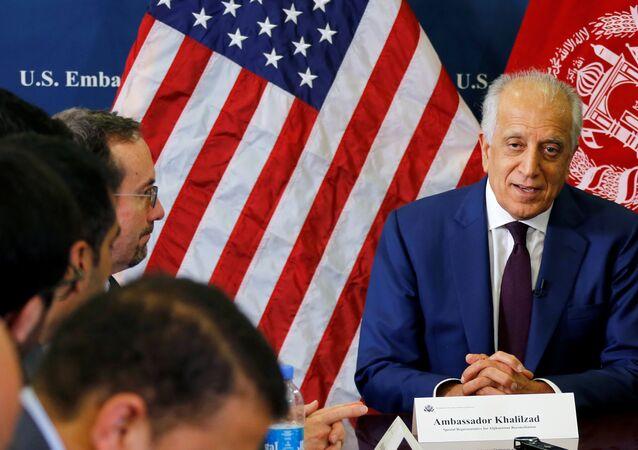 ABD'nin Afganistan Özel Temsilcisi Zalmay Halilzad