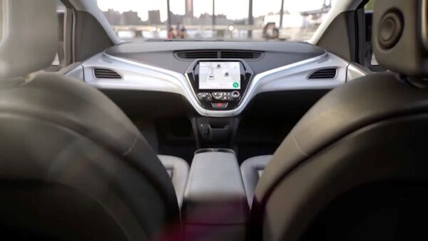 Sürücüsüz araba - Sputnik Türkiye