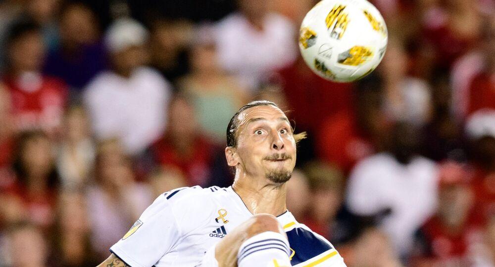 Zlatan Ibrahimovic LA Galaxy formasıyla