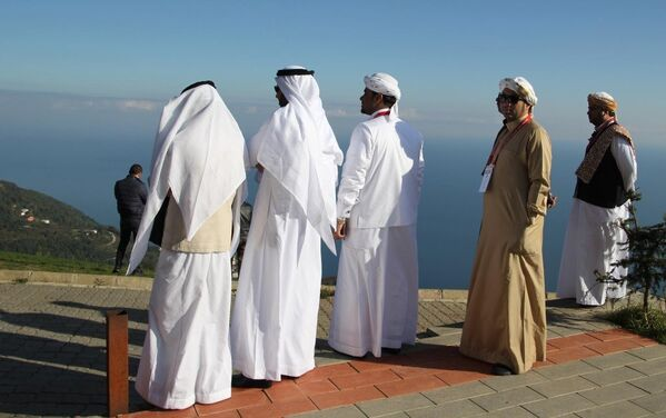 Arap - Arap turistler - Sputnik Türkiye