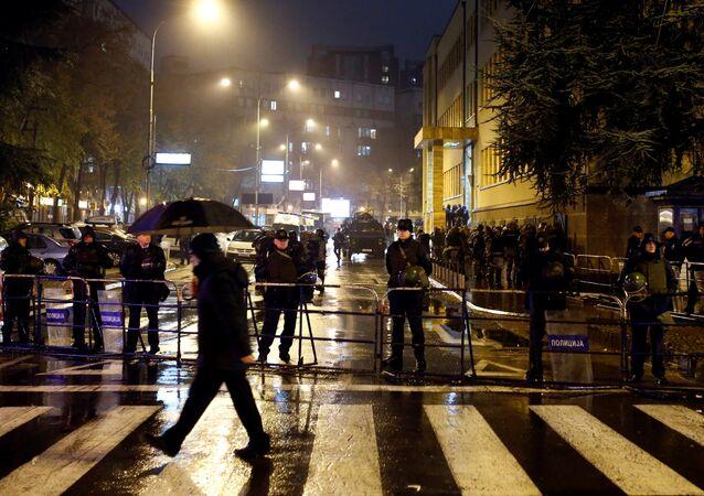 Makedonya polisi