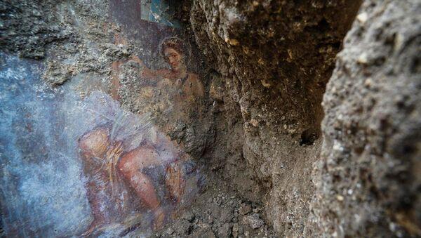 pompeii - erotik fresk - Sputnik Türkiye