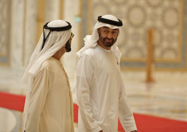 Abu Dhabi's Crown Prince Sheikh Mohammed bin Zayed Al Nahyan